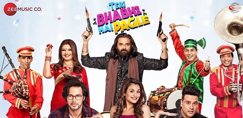 'Teri Bhabhi Hai Pagle' movie review: Krushna Abhishek starrer fails as a satire