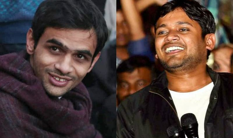 News Alerts! Kanhaiya Kumar, Umar Khalid among others named in chargesheet filed in JNU sedition case
