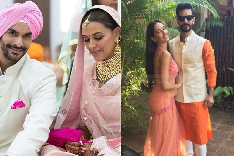 Shocking! This is how Angad Bedi's ex Norah Fatehi's reacted to his marriage with Neha Dhupia