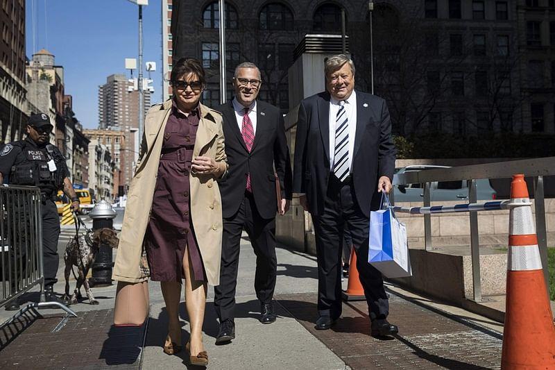 """Melania Trump's parents become US citizens through """"chain migration"""" programme"""