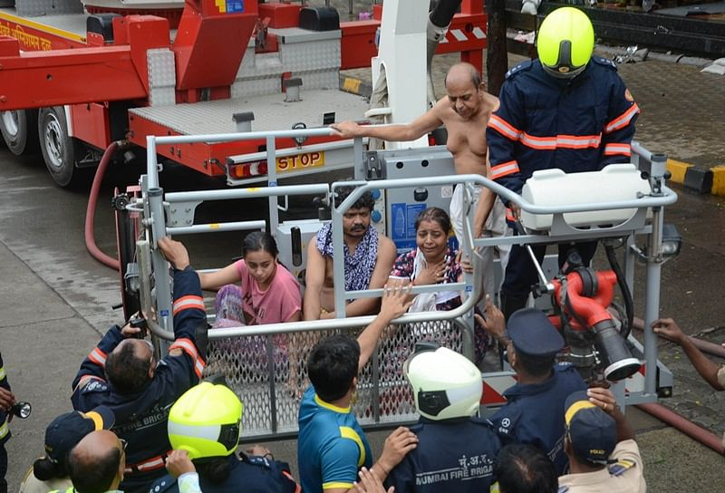 Mumbai Fire:  'No lift and water but we can have a candlelight dinner', says Crystal Tower resident
