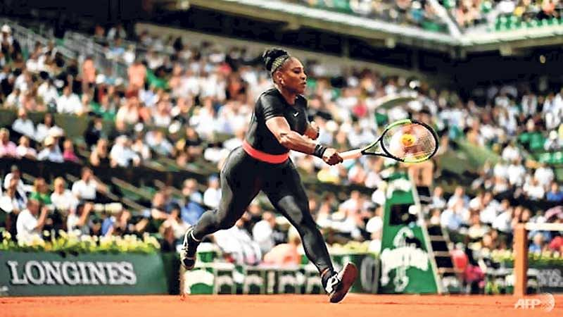 French Open to ban Serena's Black Panther catsuit