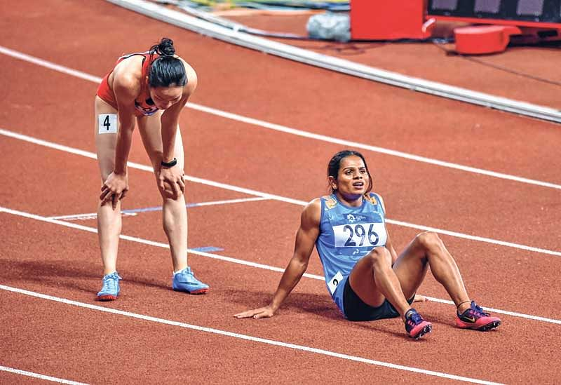 Asian Games : How speed rubber training prepared Dutee
