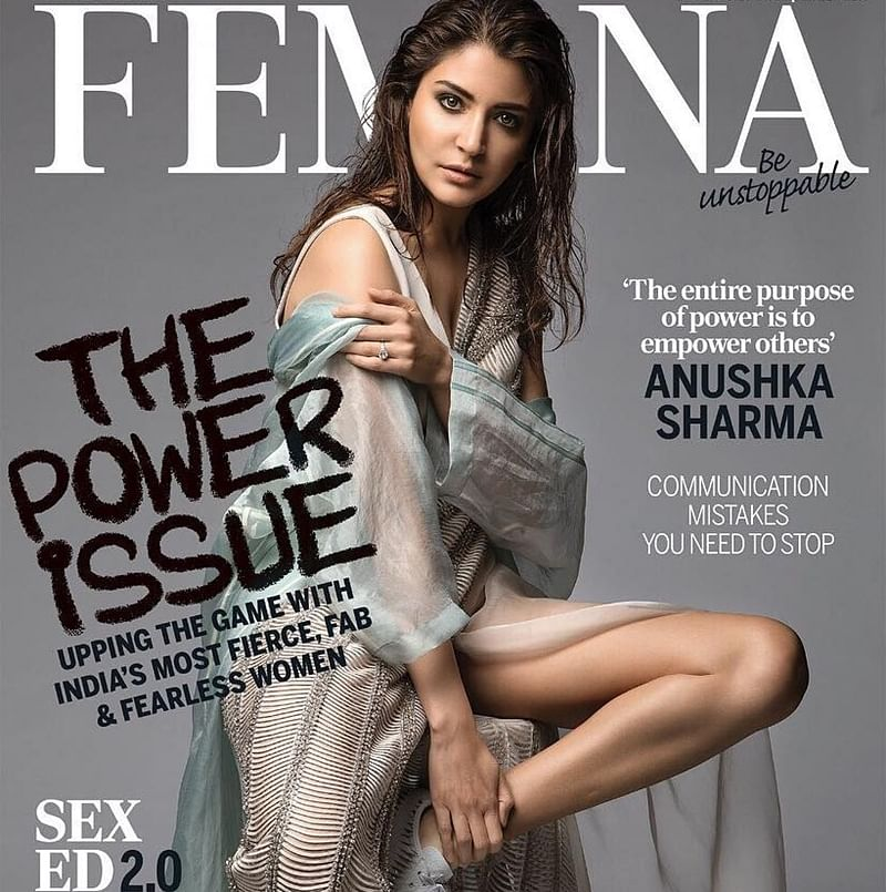 Anushka Sharma oozes boldness as she graces latest magazine cover, see pic