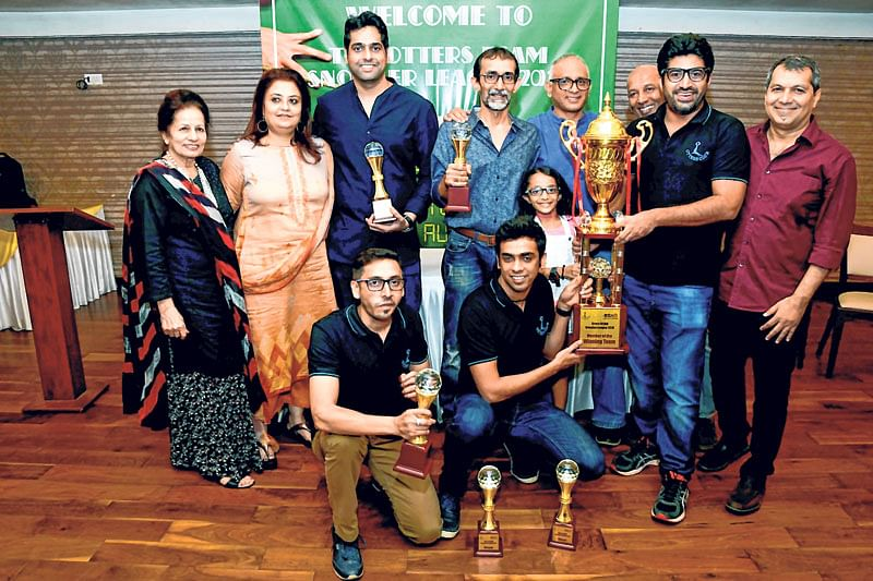 Otters 'Rockets' retain snooker crown of Otters Club BSAM Mumbai Z3-Snooker League 2018