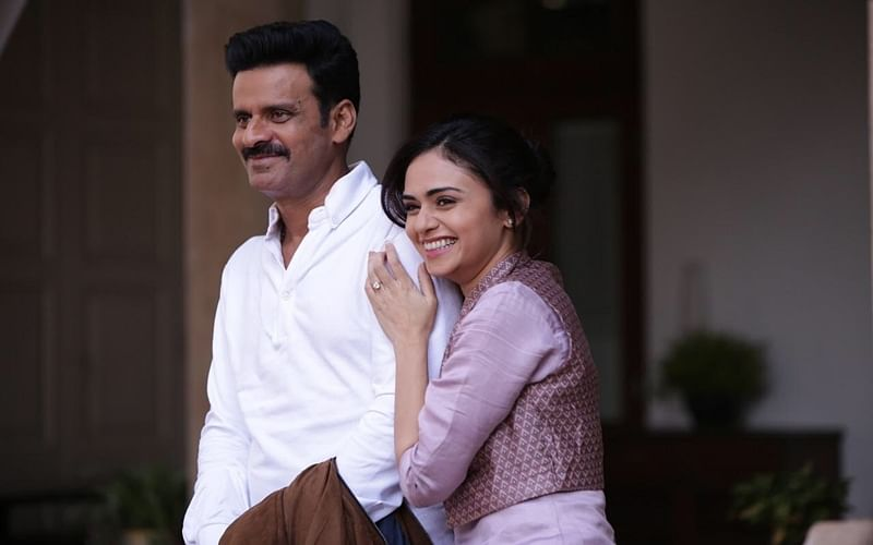 'Satyameva Jayate': Amruta Khanvilkar on her chemistry with Manoj Bajpayee, he looks angry but is calm and tricky