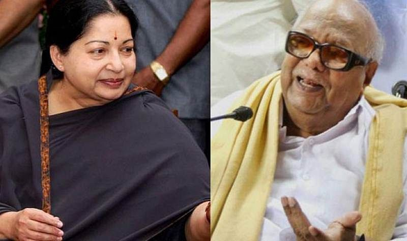 Karunanidhi Passes Away: DMK chief and Jayalalithaa had worked on a film together