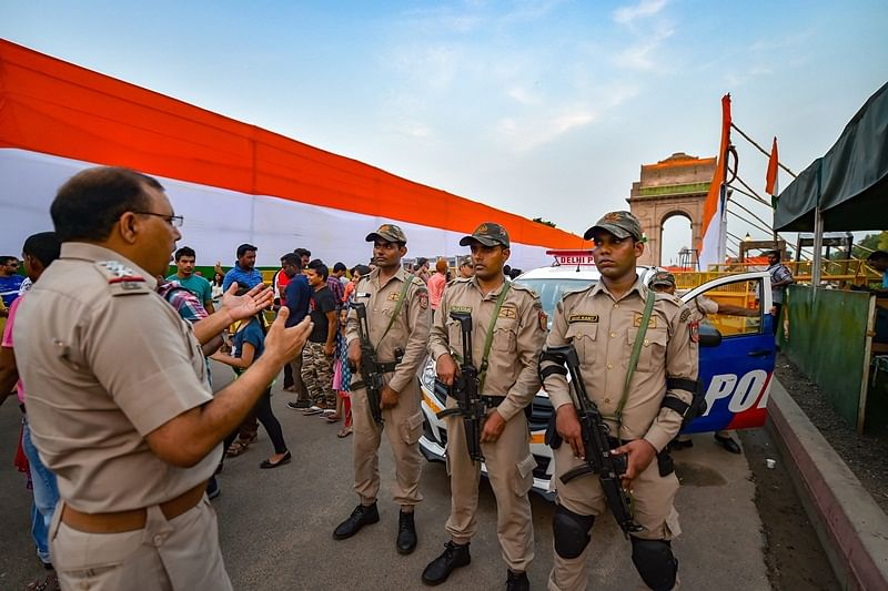 Security tightened in national capital for Independence Day
