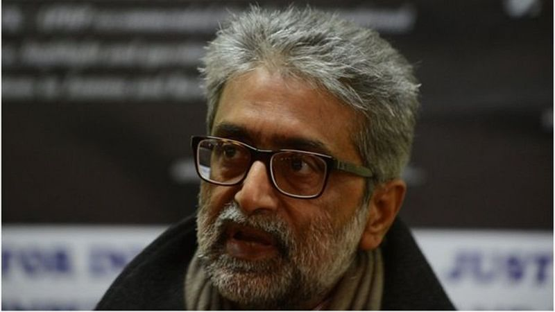 Maharashtra police claims letter seized from Gautam Navlakha talks about links with Kashmiri separatists