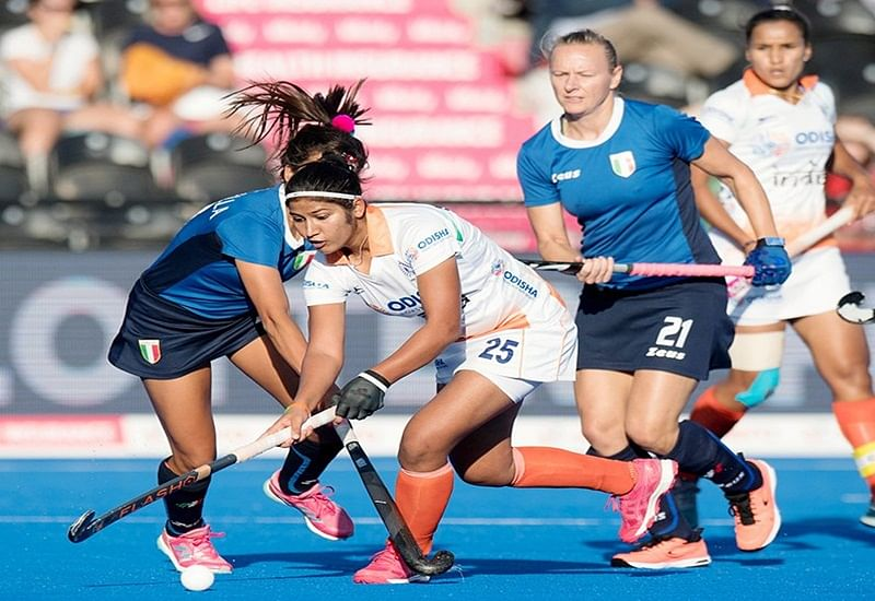 Women's Hockey World Cup: India outclass Italy 3-0 to fix berth in quarter-final against Ireland