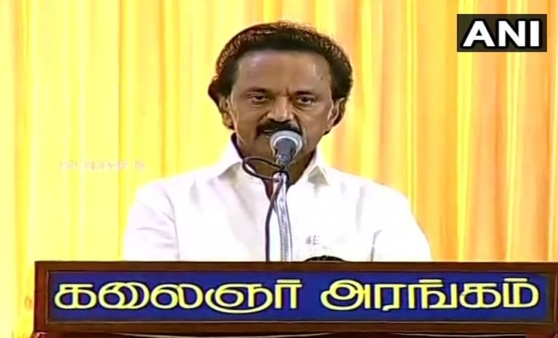 MK Stalin levelling graft charges out of 'frustration': AIADMK