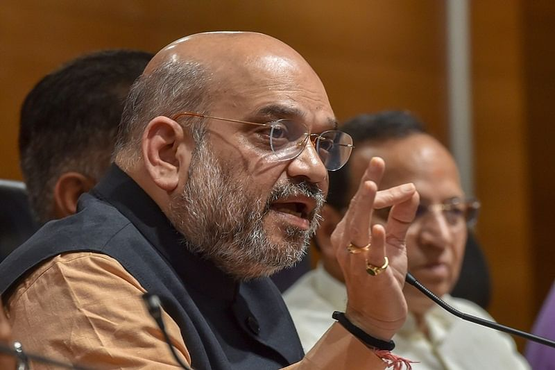 Only one place for idiocy and it's called Congress: Amit Shah
