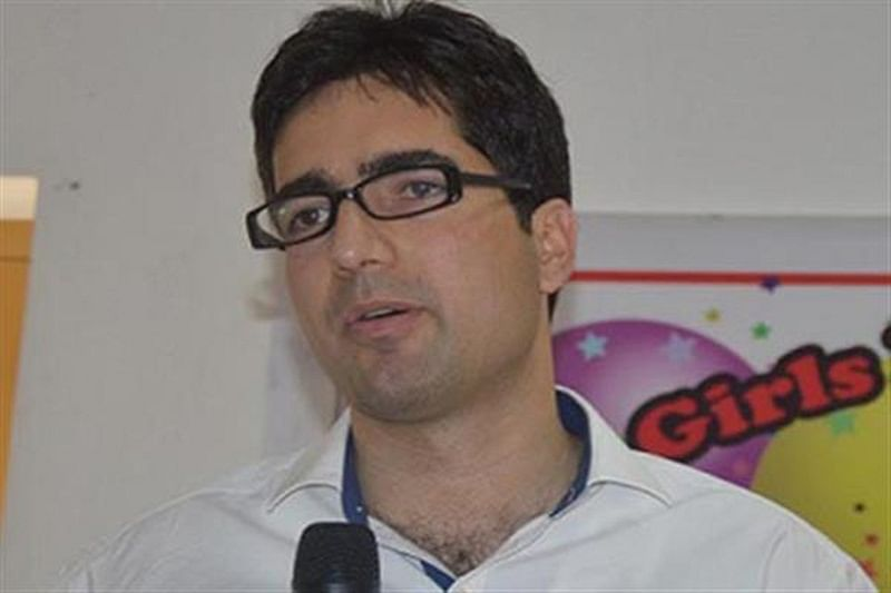 Former IAS Officer-turned-politician Shah Faesal