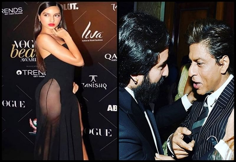 Vogue Beauty Awards 2018 Highlights: Nora Fatehi grabs eyeballs with sensuous dress while SRK-Saif go glam; see pics