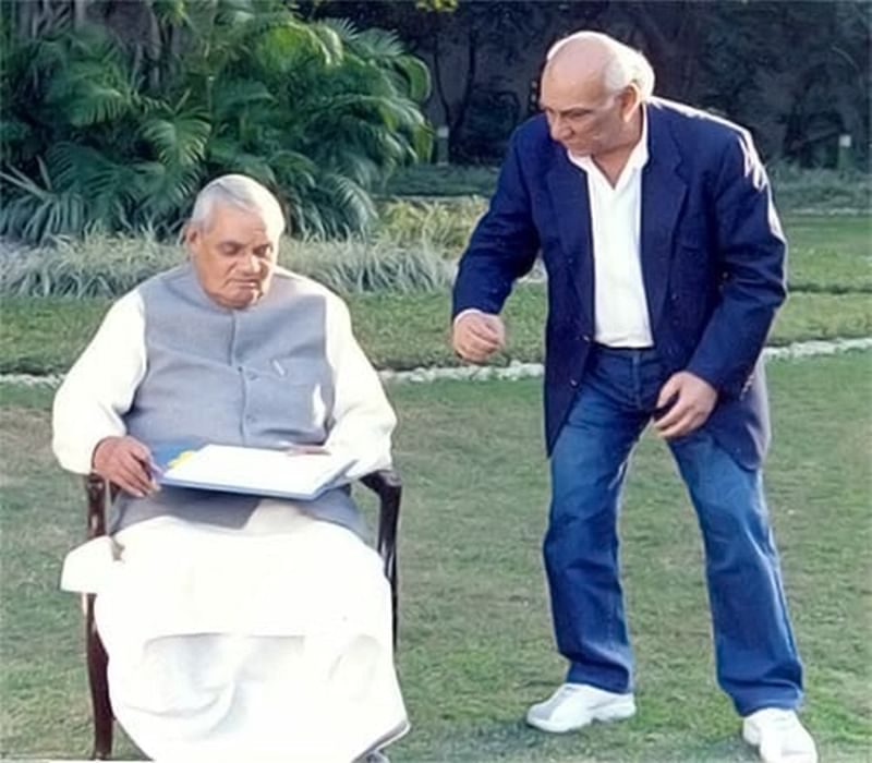 Throwback Thursday! When Yash Chopra directed former PM Atal Bihari Vajpayee for music video