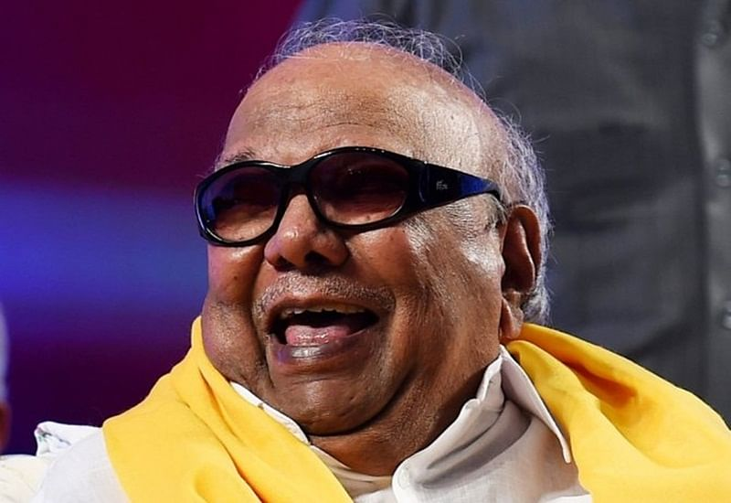This is the real reason behind late M Karunanidhi's 'style statement' of wearing black glasses