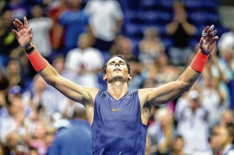 Rafael Nadal dumps Dominic