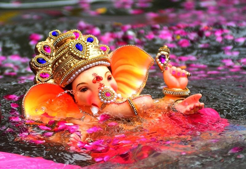 Ganesh Chaturthi 2018: Mumbai bids adieu to more than 45,000 Ganesha idols