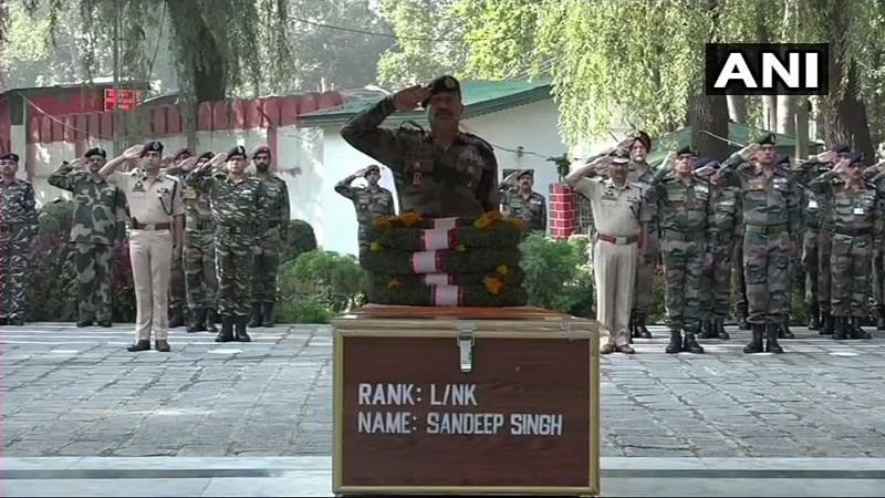 2016 surgical strike soldier Sandeep Singh martyred in gunfight at LoC, nation pays tribute