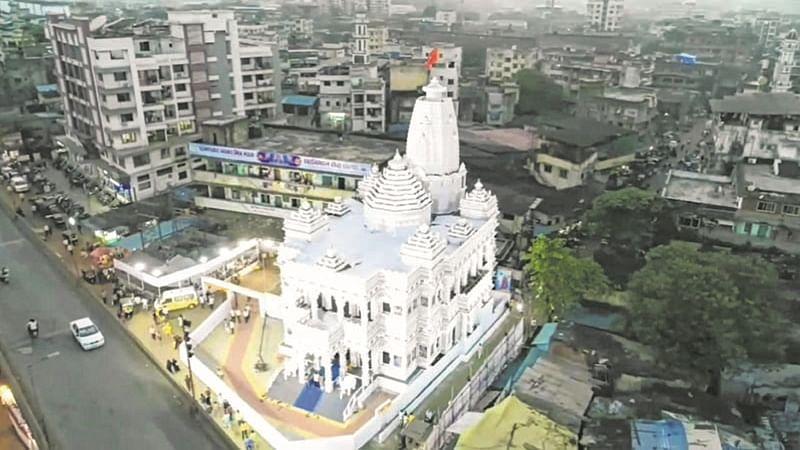 Ganesh Chaturthi 2018: Bhiwandi mandal replicates Mathura's Radha Krishna temple