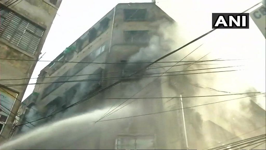 Fire still raging in Kolkata's Bagree Market, 35 fire tenders rushed to spot