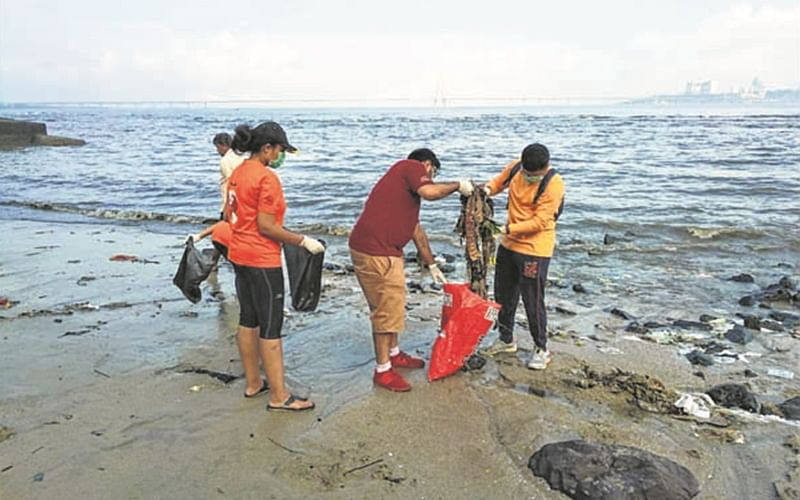 Mumbai: ITM warriors on a clean and green mission