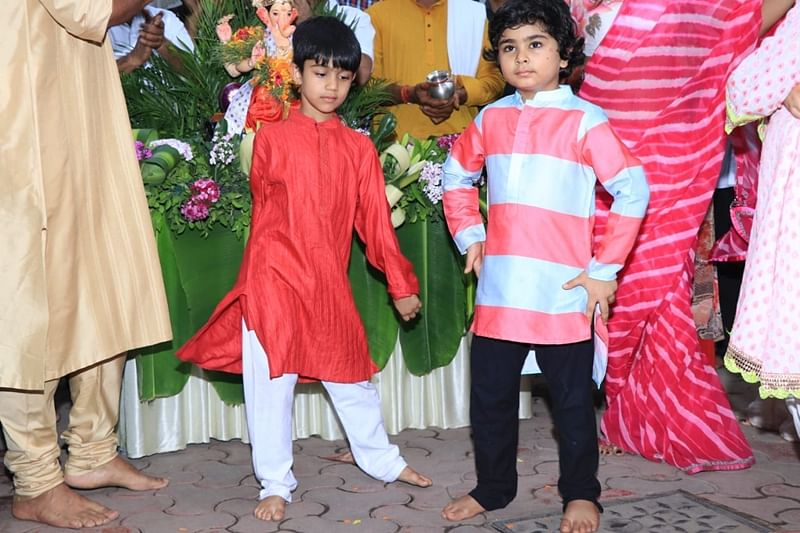 Shilpa Shetty and Raj Kundra's son Viaan. Photo by Viral Bhayani