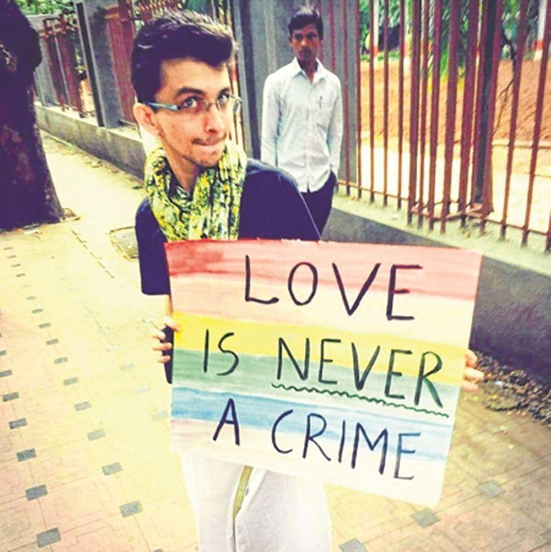 Section 377 Verdict: Love is not a crime, says activist Ankit Bhuptani