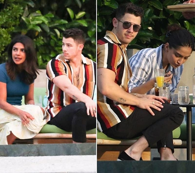 Double Date! Sonam Kapoor-Anand Ahuja chill with Priyanka Chopra-Nick Jonas at Lake Como in Italy; see pics