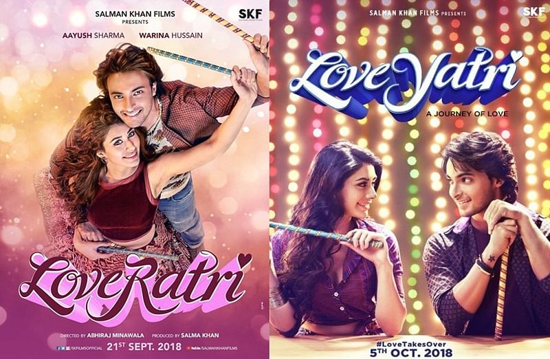 'Loveratri' to 'Loveyatri' not the first; here are 6 Bollywood films that changed their controversial titles
