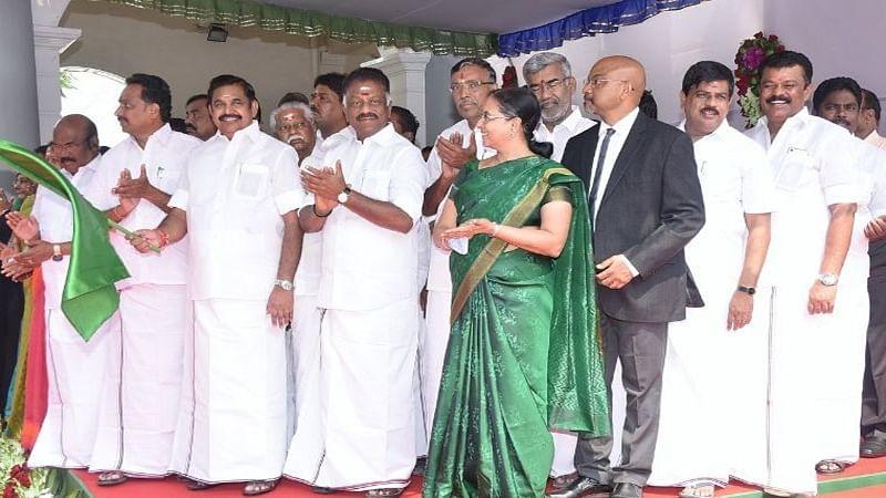 Tamil Nadu CM K Palaniswami inaugurates new bus terminal in Chennai