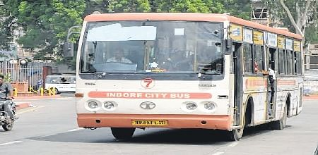 Indore:City bus service will not issue new concession tickets till poll results