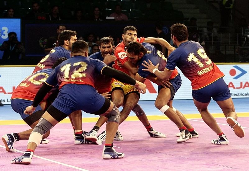PKL 2018: Dabang Delhi play out 37-37 draw with Jaipur Pink Panthers