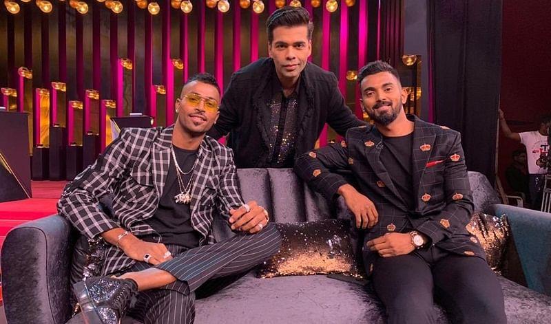 Koffee with Men in Blue! Hardik Pandya and KL Rahul make their debut on Karan Johar's Koffee with Karan