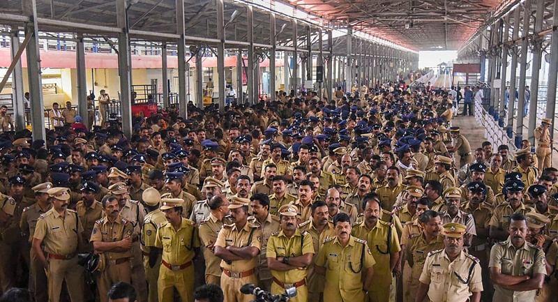 Kerala: 68 pilgrims arrested for protesting outside Sabarimala temple