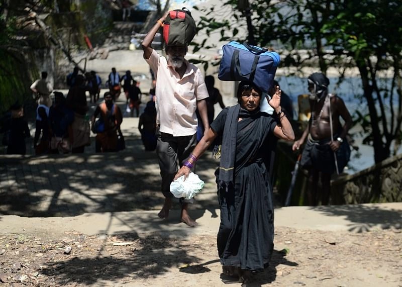 Two women fail to make it to Sabarimala