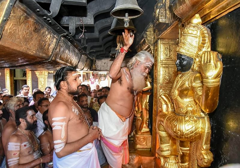Sabarimala temple re-opens for two-month long pilgrim season amid tight security