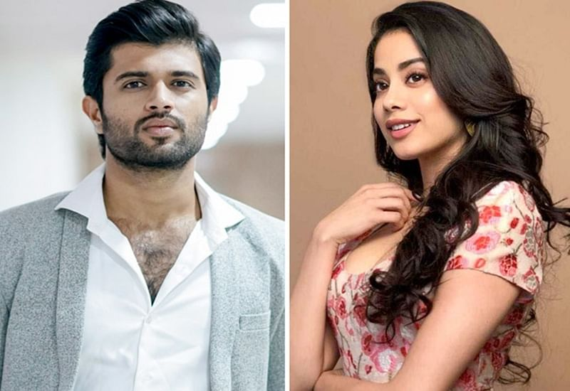 Vijay Deverakonda had blush moment when Janhvi Kapoor called herself a fan of him