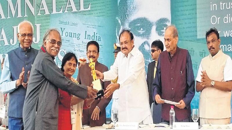 Mumbai: Social leaders honoured by Jamnalal Bajaj Awards
