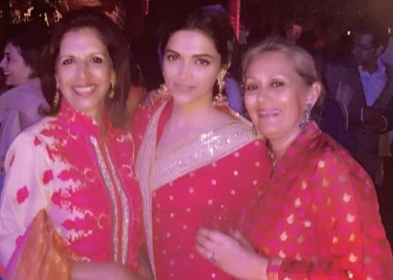 This unseen picture of bride Deepika proves she is red-dy for marital bliss