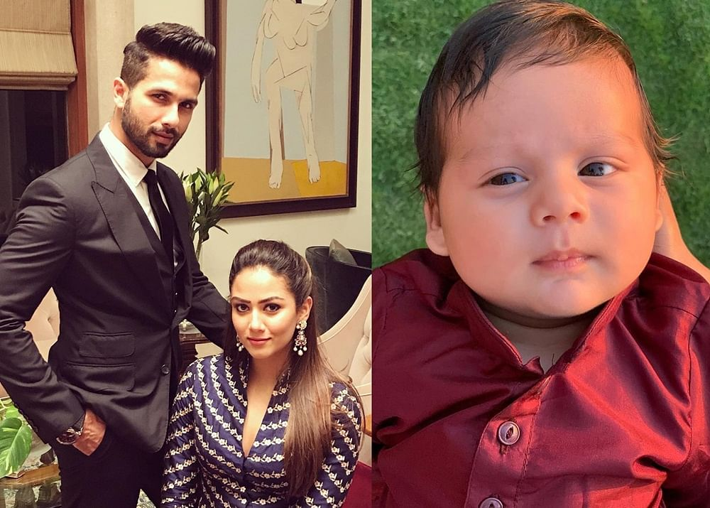 Say hello to Shahid Kapoor and Mira Rajput's baby boy Zain Kapoor