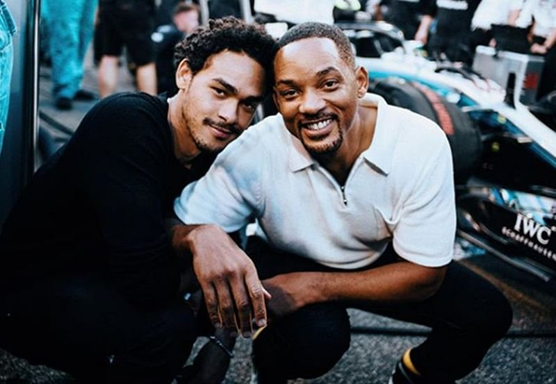 Actor Will Smith gets teary talking about oldest son Trey