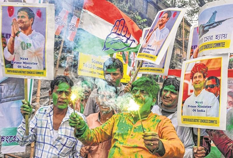 With multiple CM claimants, Grand Old Party has a problem of plenty