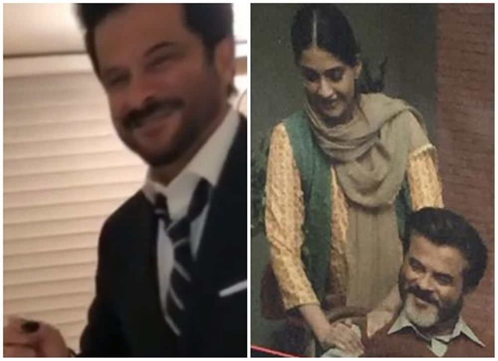 Anil Kapoor rings in birthday with family; Sonam and Anand join the celebration via video call