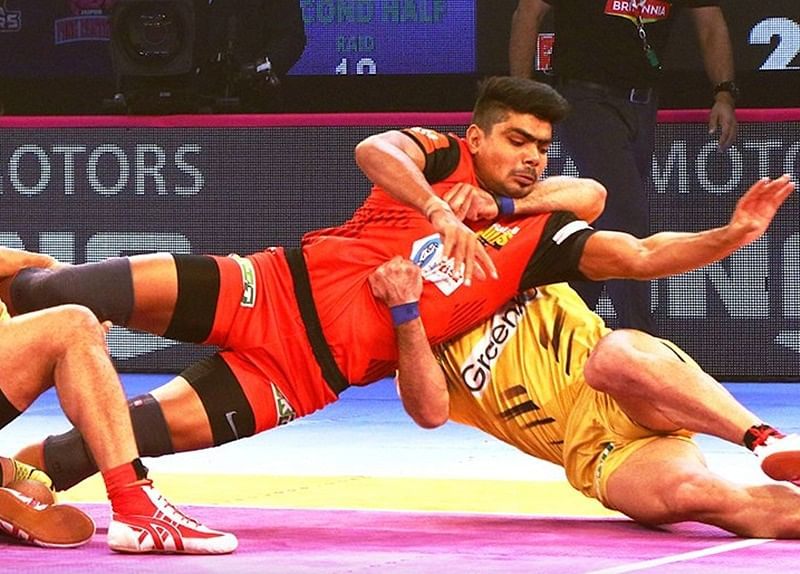 PKL 2018: Bengaluru Bulls bags big victory over Telugu Titans to make way for play-offs
