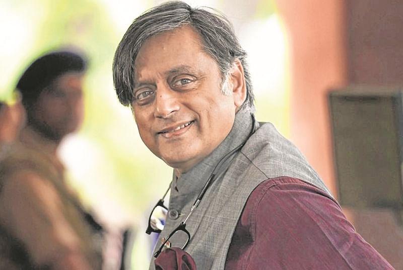 Congress MP Shashi Tharoor tweet kicks up row