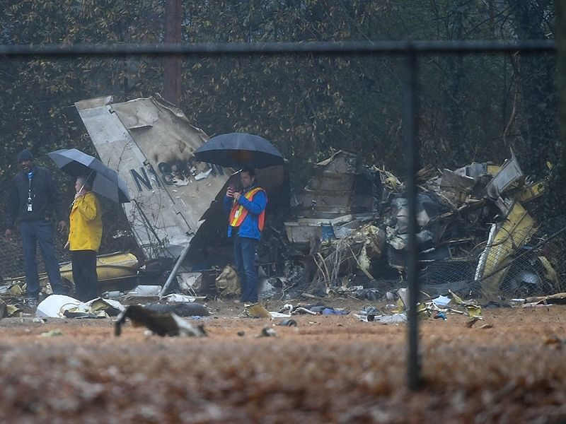 US: Four killed as jet crashes into football field