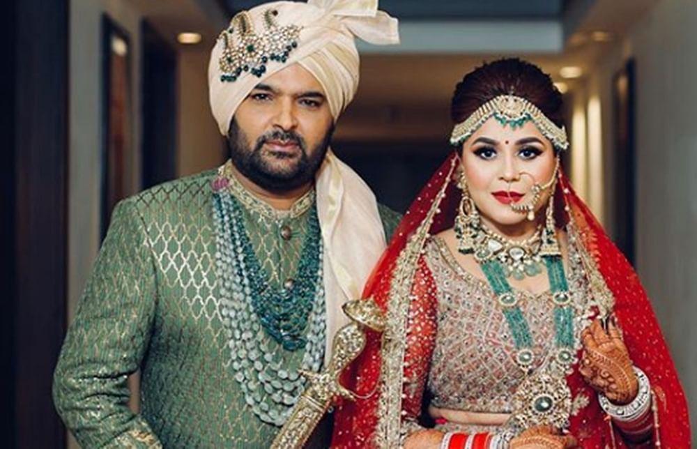 Kapil SharmaandGinni Chatrath are now married