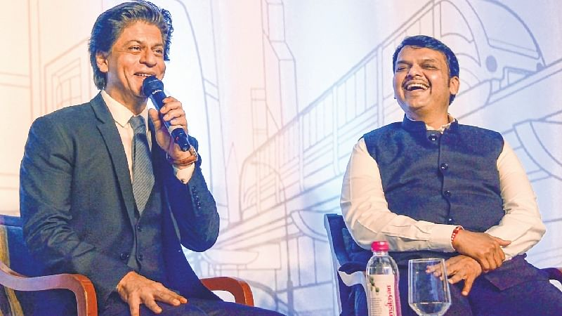 I wish to see everyone's dream fulfilled, CM Devendra Fadnavis tells interviewer Shahrukh Khan