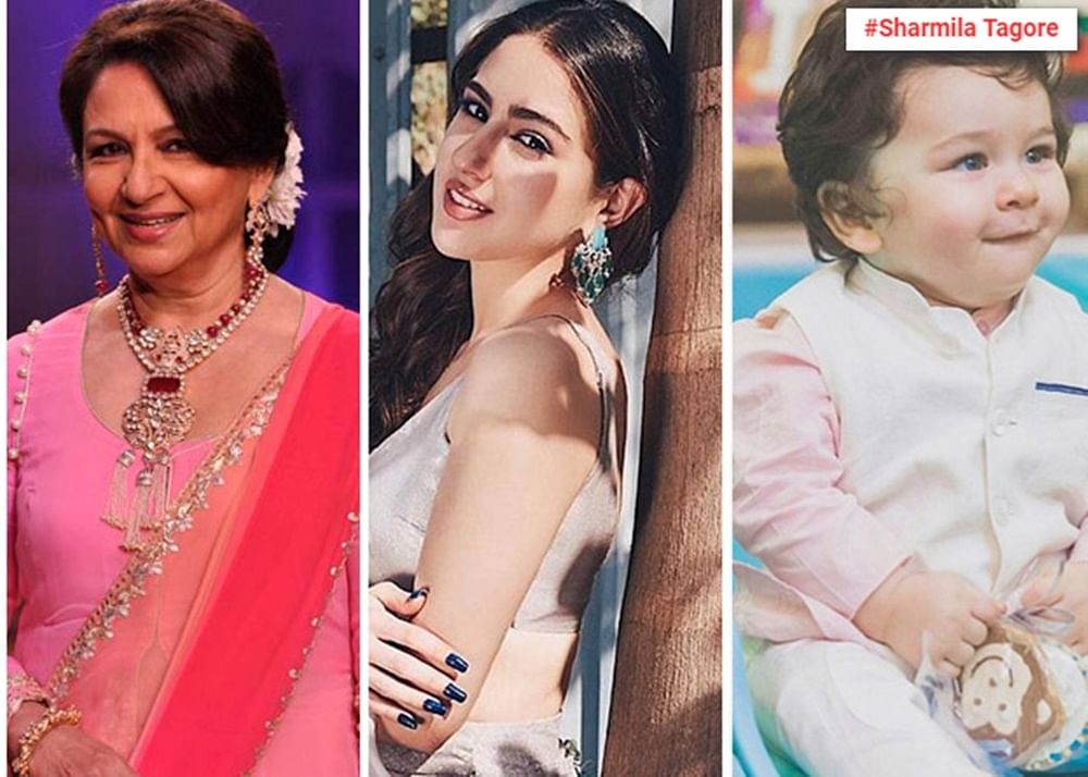 Sharmila Tagore talks about Sara's debut, Taimur's stardom and biopic on late husband Mansoor Ali Khan Pataudi